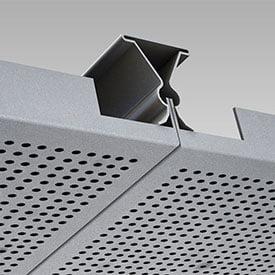 clip in metal asma tavan paneli