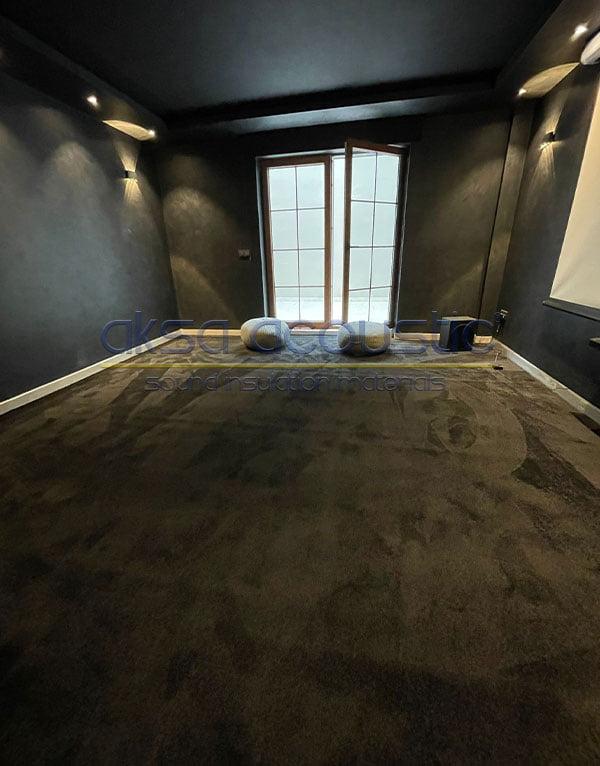 duvardan duvara akustik halı