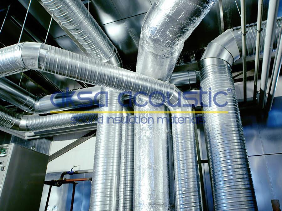 elastomerik kauçuk ses ısı yalıtımı