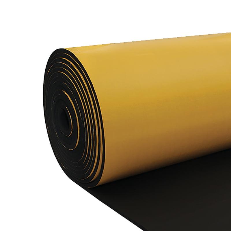 elastomerik kauçuk levha yapışkanlı