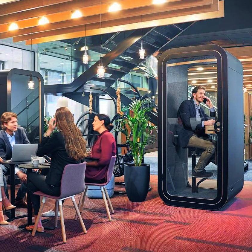 akustik görüşme kabini
