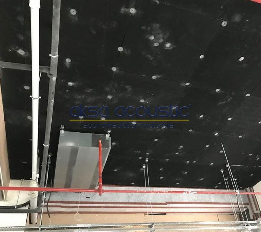 keçeli pvc kauçuk ses bariyeri tavan ses yalıtımı