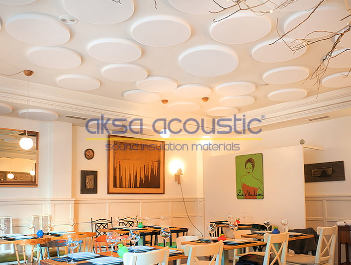 basotect asma tavan paneli akustik düzenleme