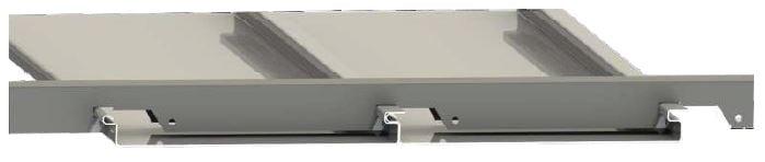 linear metal asma tavan paneli