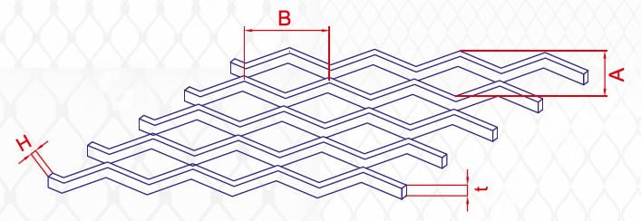 metal mesh asma tavan paneli ozellikleri