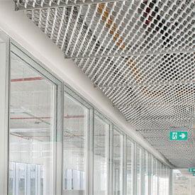 metal mesh asma tavan paneli