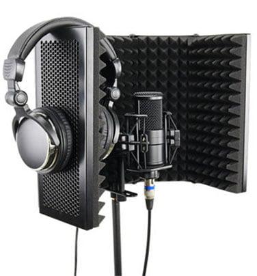 mikrofon ses izolasyon paneli