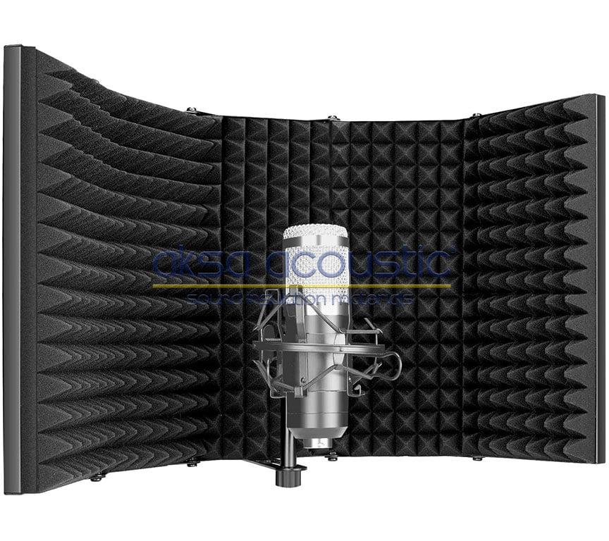 mikrofon ses yalıtım paneli