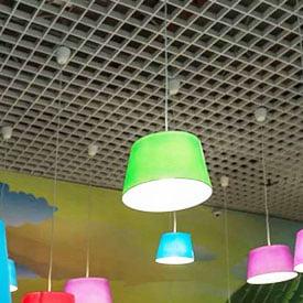petek metal asma tavan paneli