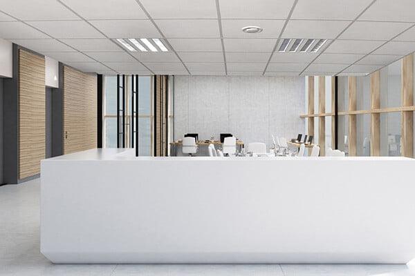 polo akustik asma tavan paneli