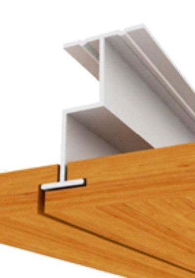 prosista gizli taşıyıcılı ahşap asma tavan sistemleri modeli