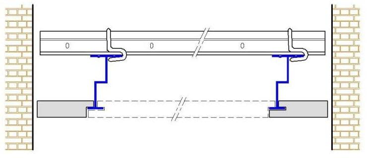 prosista gizli taşıyıcılı ahşap asma tavan sistemleri uygulama modeli
