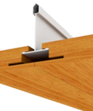 prosista gizli taşıyıcılı ahşap asma tavan sistemleri