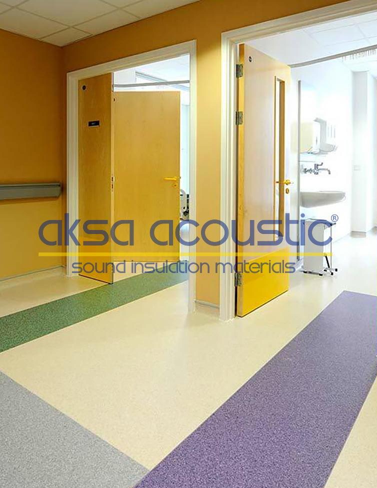 akustik pvc zemin döşemeleri