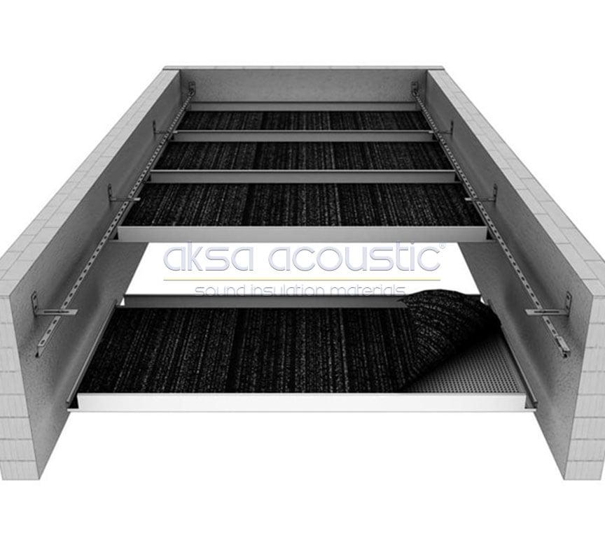 soundtex asma tavan paneli kumaşı