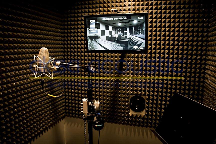 stüdyo akustik ses izolasyonu