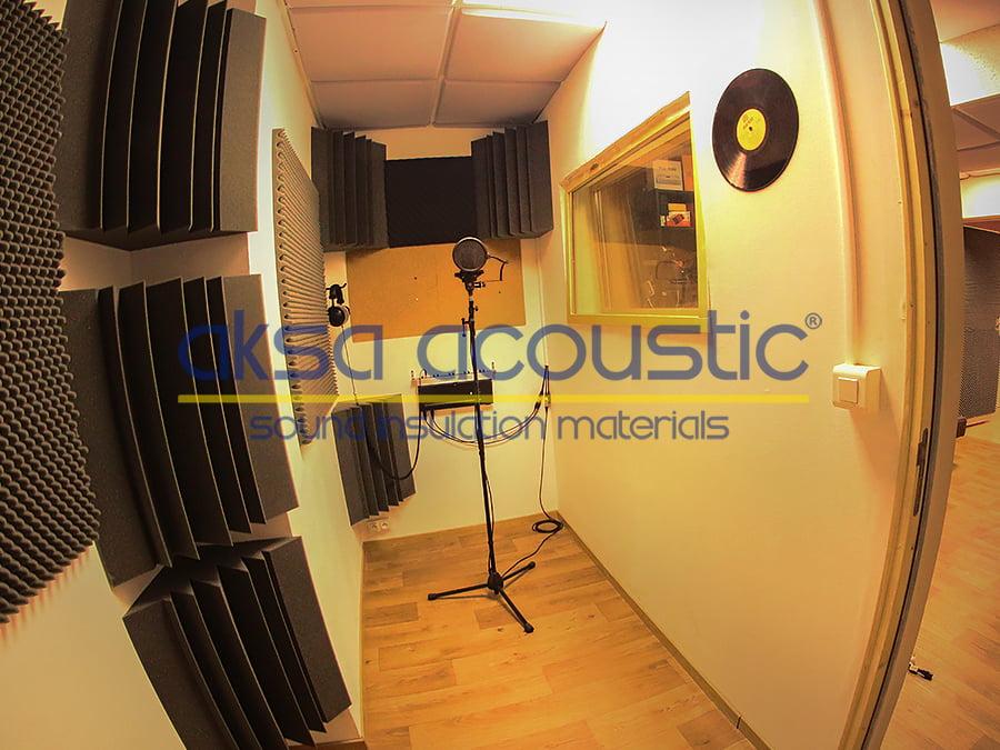 stüdyo ses yalıtım malzemesi