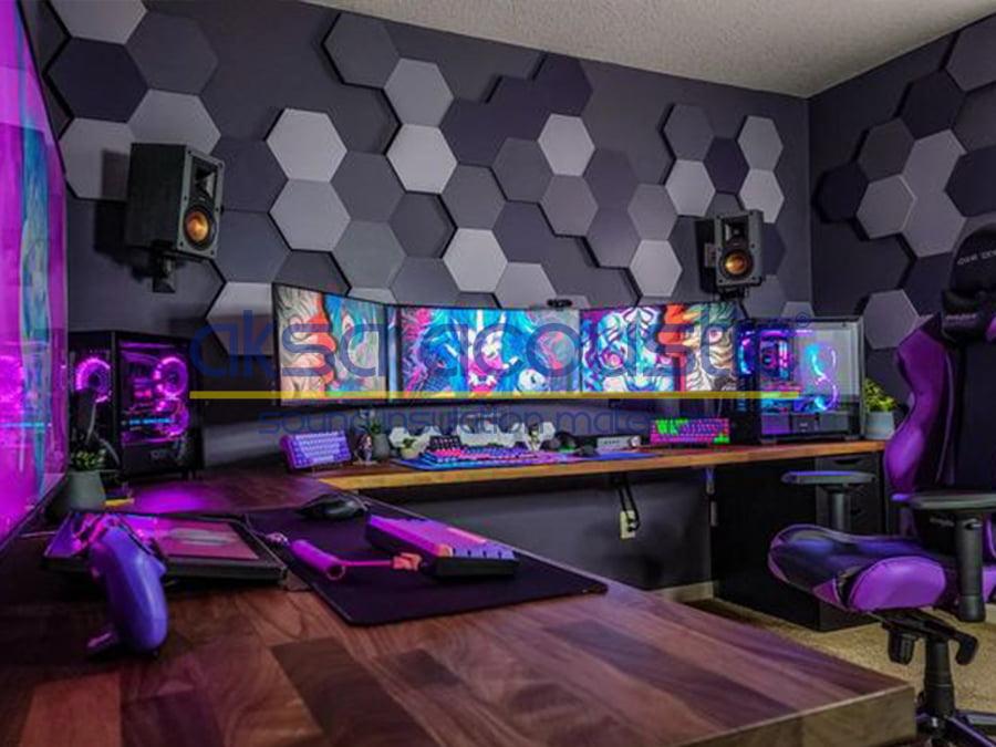 podcast streamer room