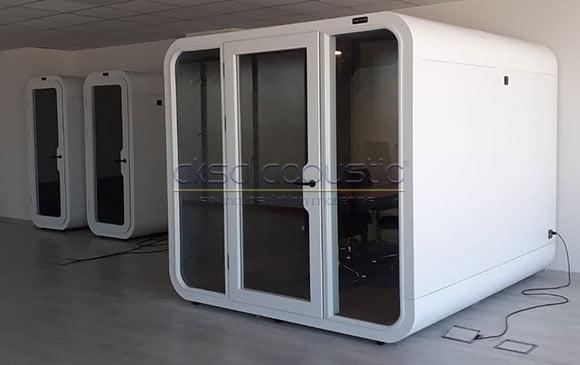 akustik hazır kabin portatif oda