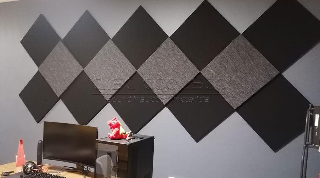 oksid bilişim çekmeköy akustik kumaş kaplı panel ses yalıtım kaplama