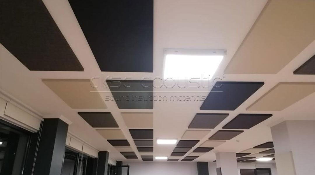 oksid bilişim çekmeköy akustik kumaş kaplı panel ses yalıtımı
