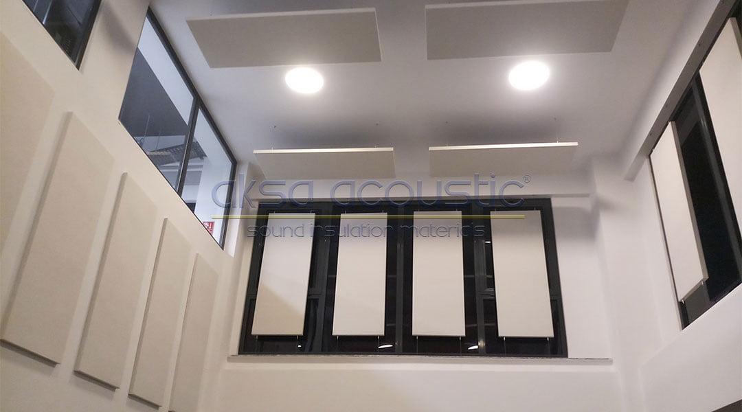 sepaş enerji akustik kumaş kaplı duvar tavan paneli
