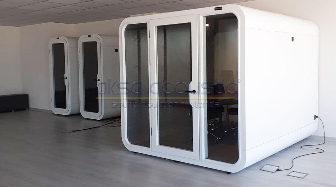 tc izmir kalkınma ajansı akustik toplantı kabini telefon görüşme kabini ofis kabinleri ses yalıtımı